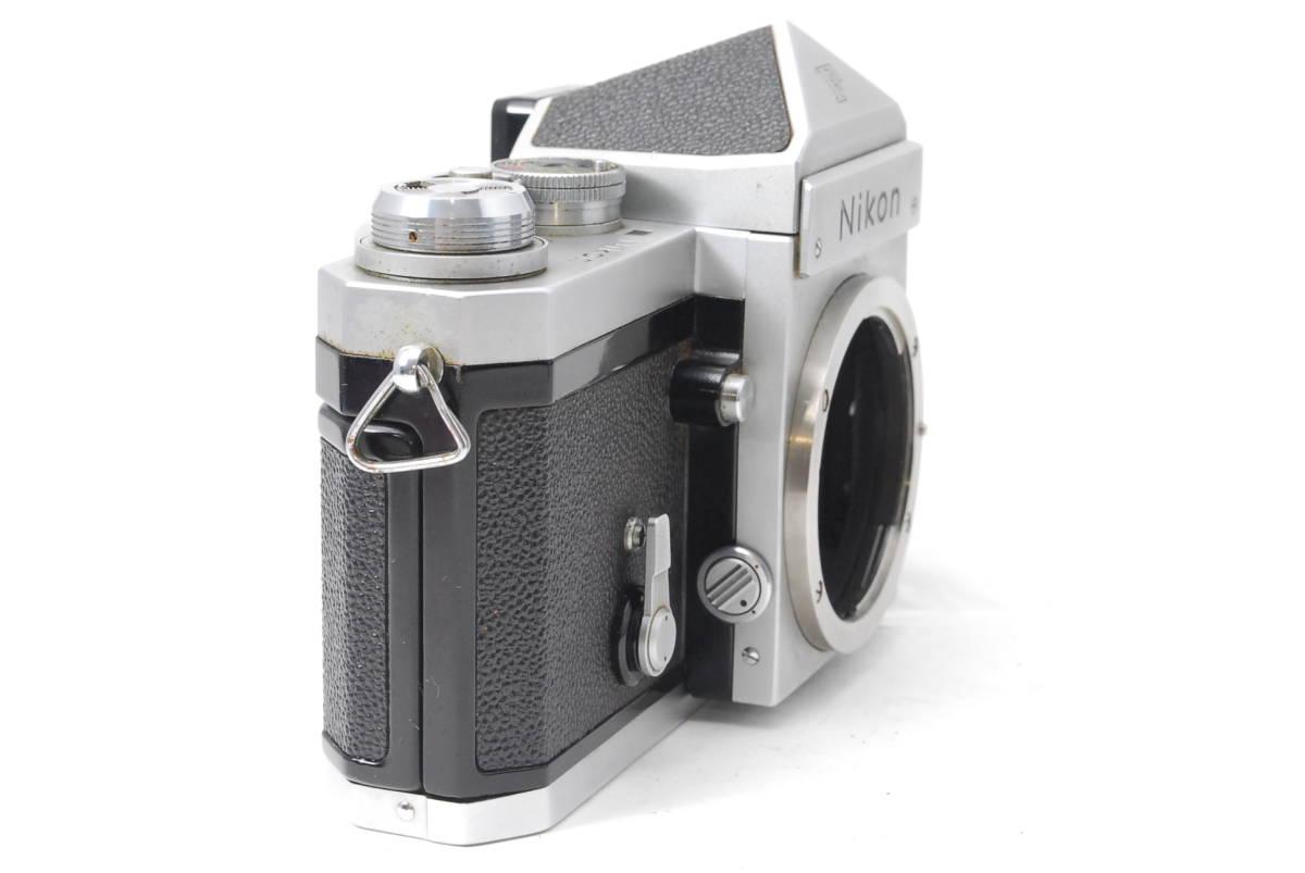 貴重品 ニコン Nikon F アイレベル ボディ ♯3409_画像2