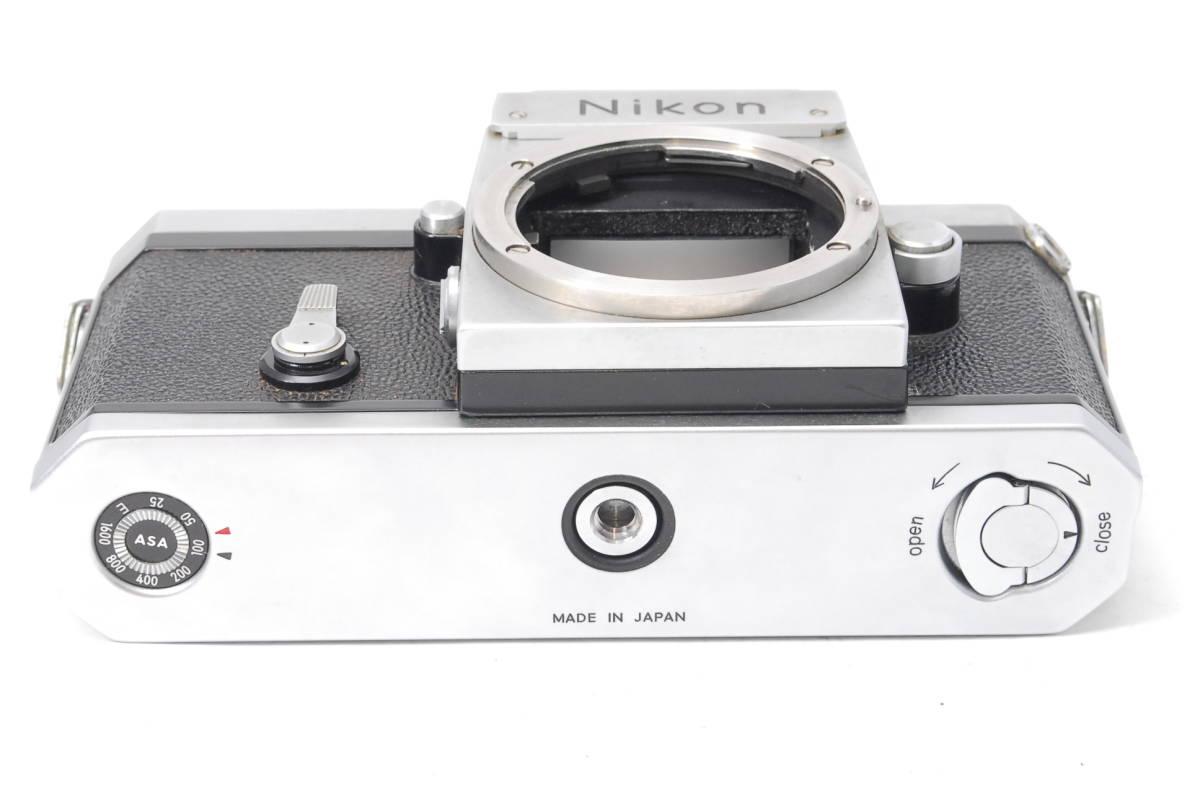 貴重品 ニコン Nikon F アイレベル ボディ ♯3409_画像6