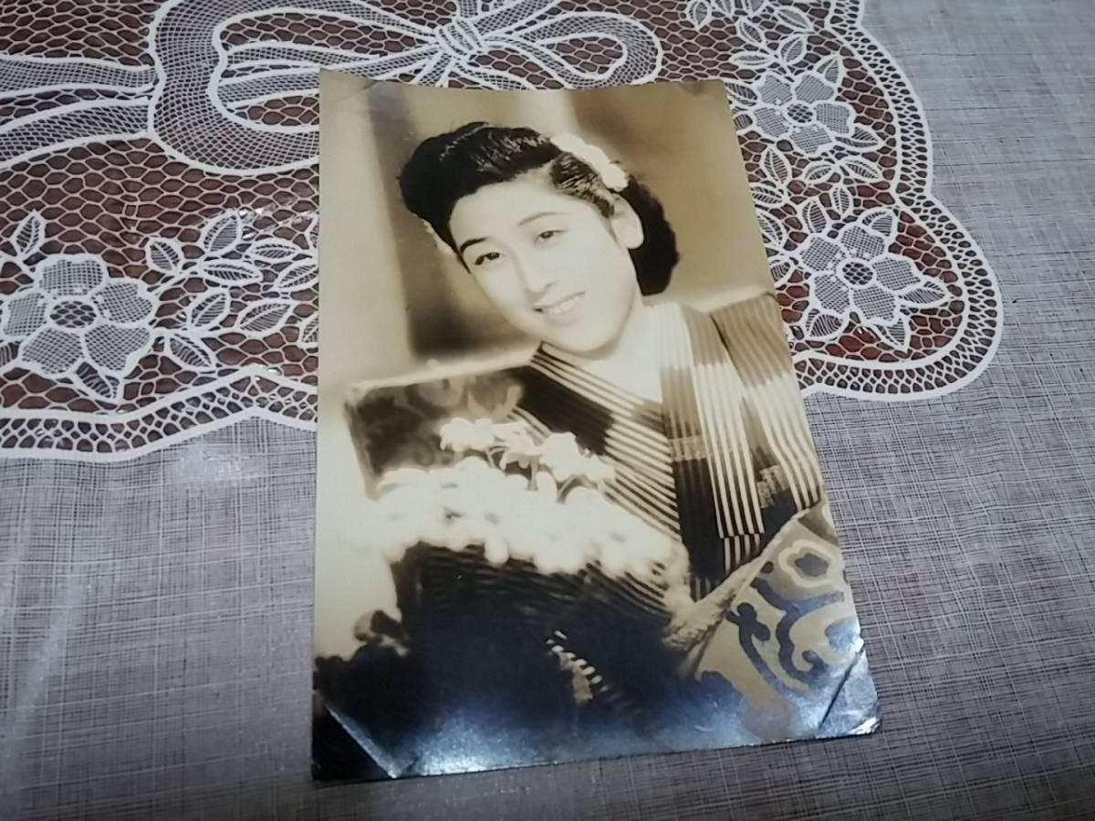 戦前 ブロマイド 花井蘭子