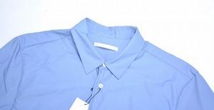 DISCOVERED ディスカバード LONG SHIRT ロングシャツ 16AW 2(M) BLUE ブルー 中綿入り PADDED SHIRTS INSULATED_画像3