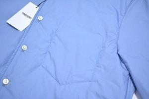 DISCOVERED ディスカバード LONG SHIRT ロングシャツ 16AW 2(M) BLUE ブルー 中綿入り PADDED SHIRTS INSULATED_画像4