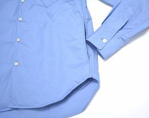 DISCOVERED ディスカバード LONG SHIRT ロングシャツ 16AW 2(M) BLUE ブルー 中綿入り PADDED SHIRTS INSULATED_画像5