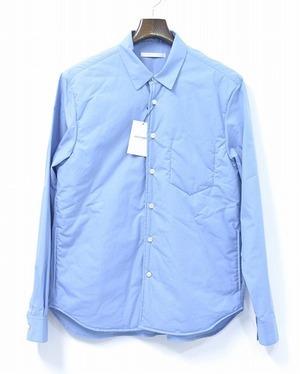 DISCOVERED ディスカバード LONG SHIRT ロングシャツ 16AW 2(M) BLUE ブルー 中綿入り PADDED SHIRTS INSULATED_画像1