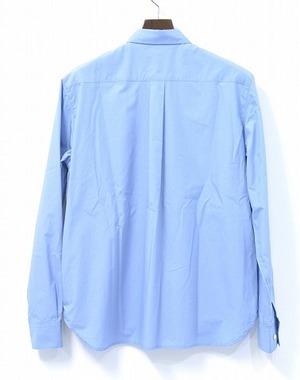 DISCOVERED ディスカバード LONG SHIRT ロングシャツ 16AW 2(M) BLUE ブルー 中綿入り PADDED SHIRTS INSULATED_画像2