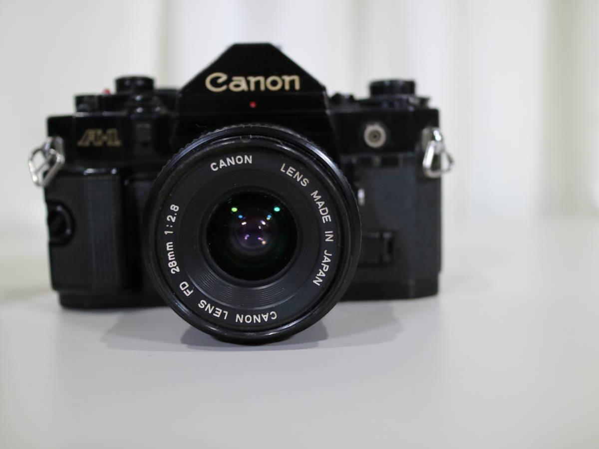 2台まとめて Canon キャノン 【 A-1・AE-1 】 28mmと28-80mm_画像2