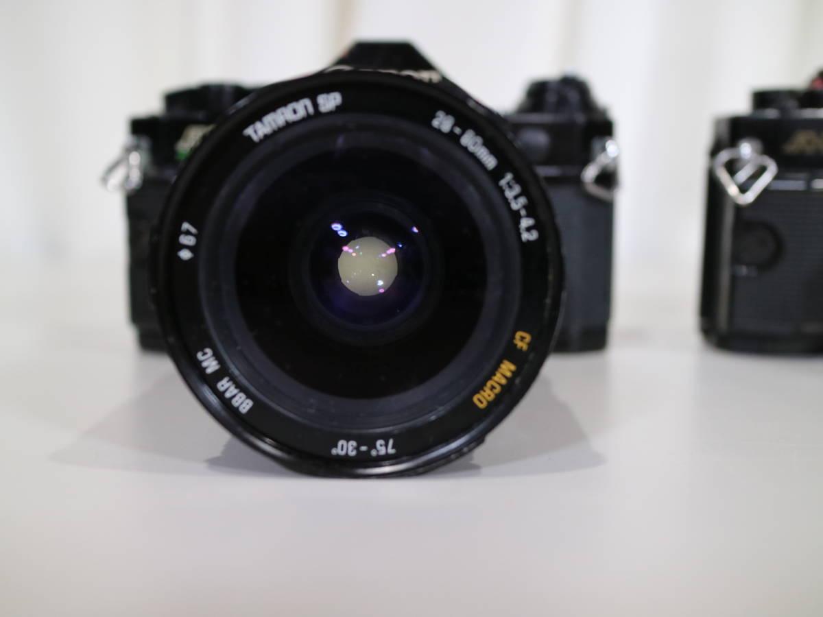 2台まとめて Canon キャノン 【 A-1・AE-1 】 28mmと28-80mm_画像4