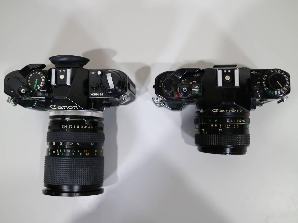 2台まとめて Canon キャノン 【 A-1・AE-1 】 28mmと28-80mm_画像5