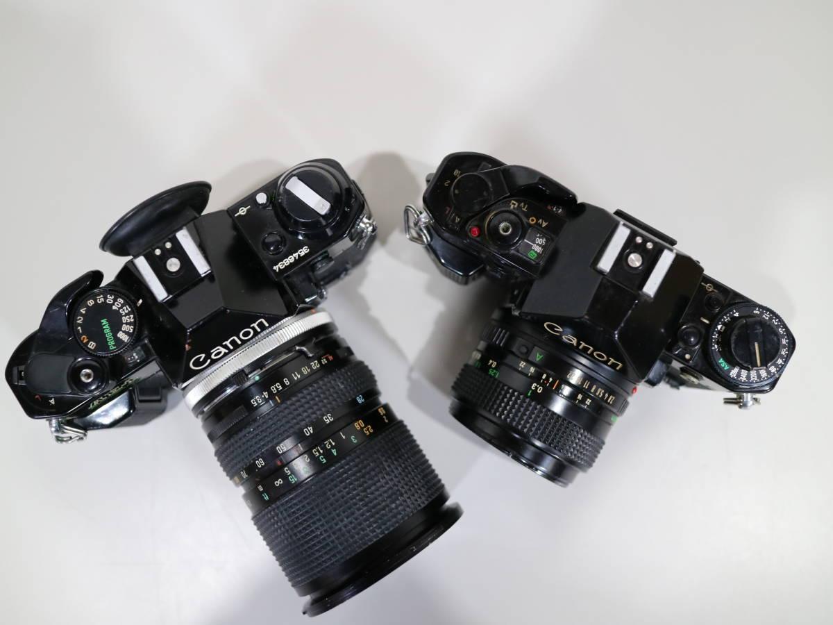 2台まとめて Canon キャノン 【 A-1・AE-1 】 28mmと28-80mm_画像7