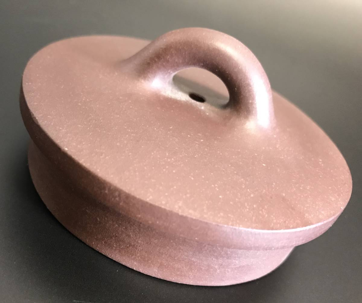 中国 紫砂壺大師 席 鎖富《大 石 瓢》 工藝美術師 急順 茶道具 未使用 逸品 箱付_画像3