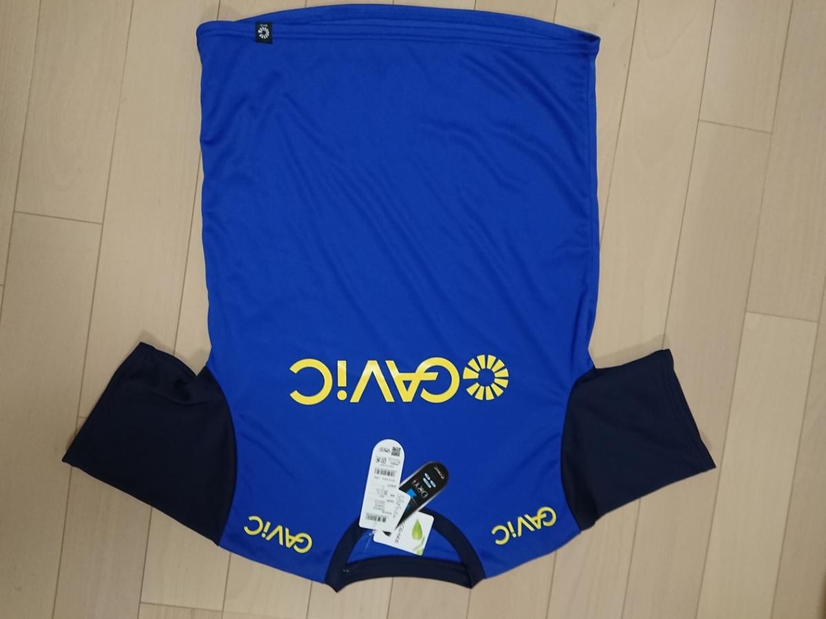 新品タグ付き GAViC ガビック 半袖プラクティスシャツ&長袖インナーセット Lサイズ ブルー