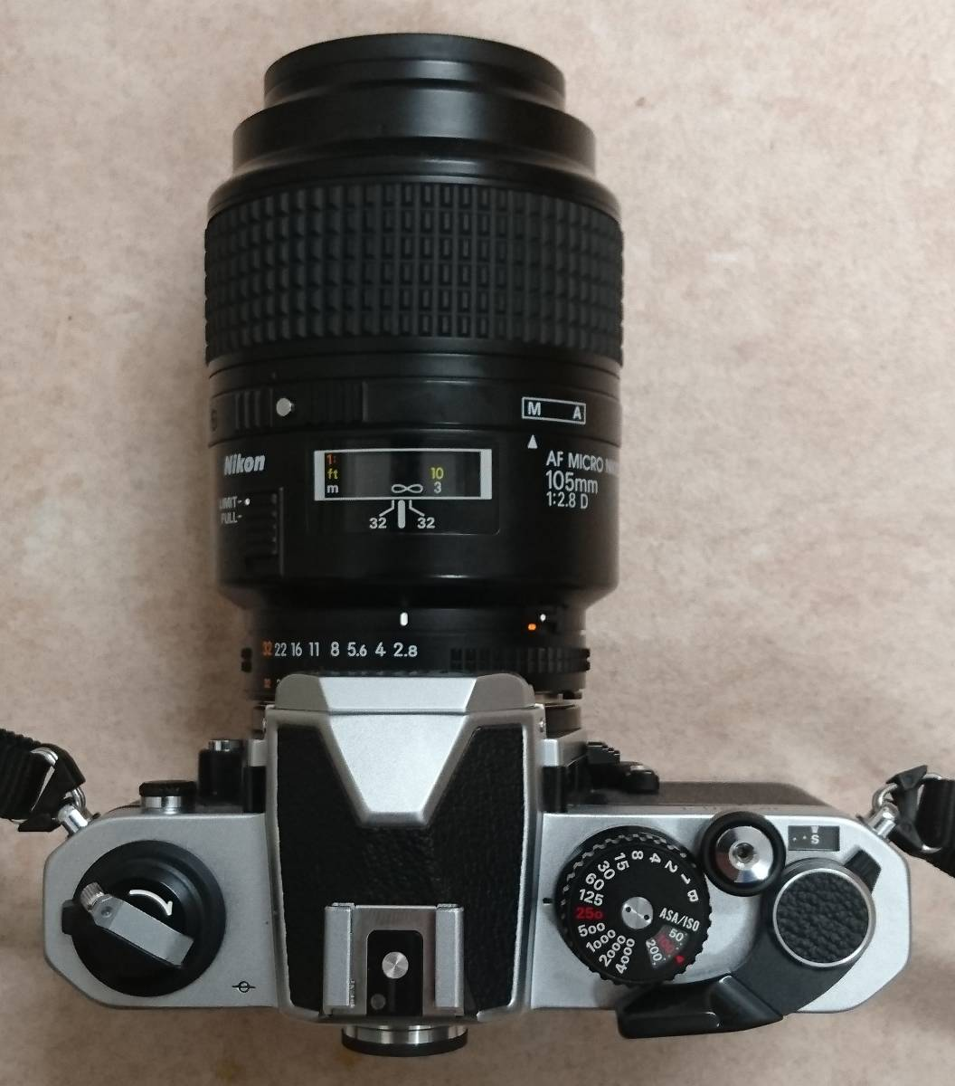 ◇ Nikon ニコン FM2 AF MICRO NIKKOR 105㎜ 1:2.8 D ジャンク ◇_画像4
