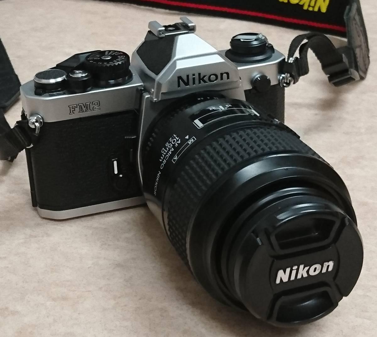 ◇ Nikon ニコン FM2 AF MICRO NIKKOR 105㎜ 1:2.8 D ジャンク ◇