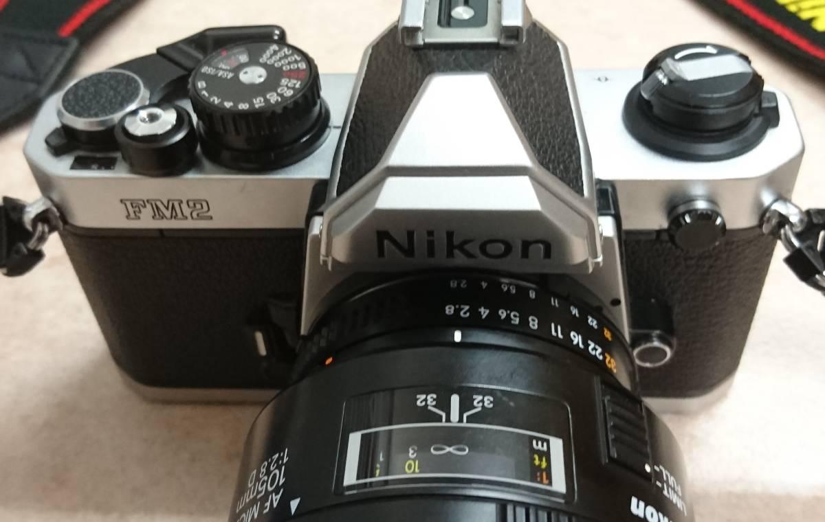 ◇ Nikon ニコン FM2 AF MICRO NIKKOR 105㎜ 1:2.8 D ジャンク ◇_画像10