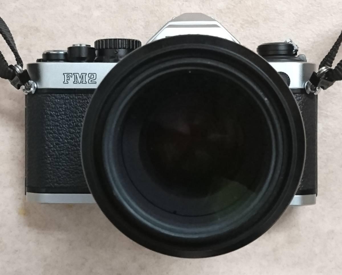◇ Nikon ニコン FM2 AF MICRO NIKKOR 105㎜ 1:2.8 D ジャンク ◇_画像3
