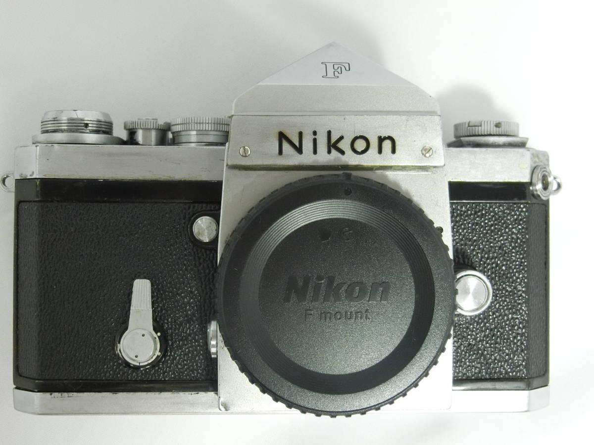Nikon ニコン F アイレベル シルバー 中古美品_画像2
