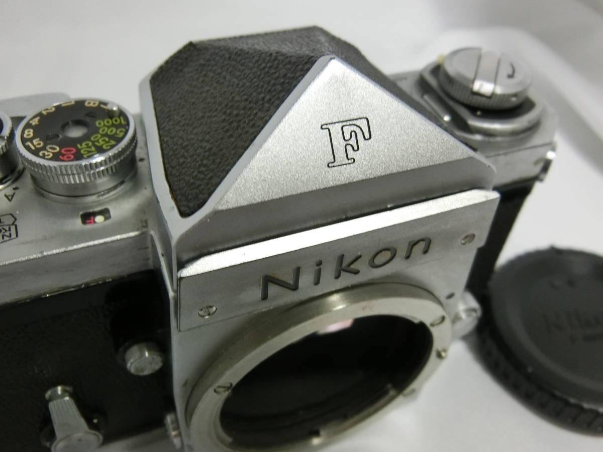 Nikon ニコン F アイレベル シルバー 中古美品