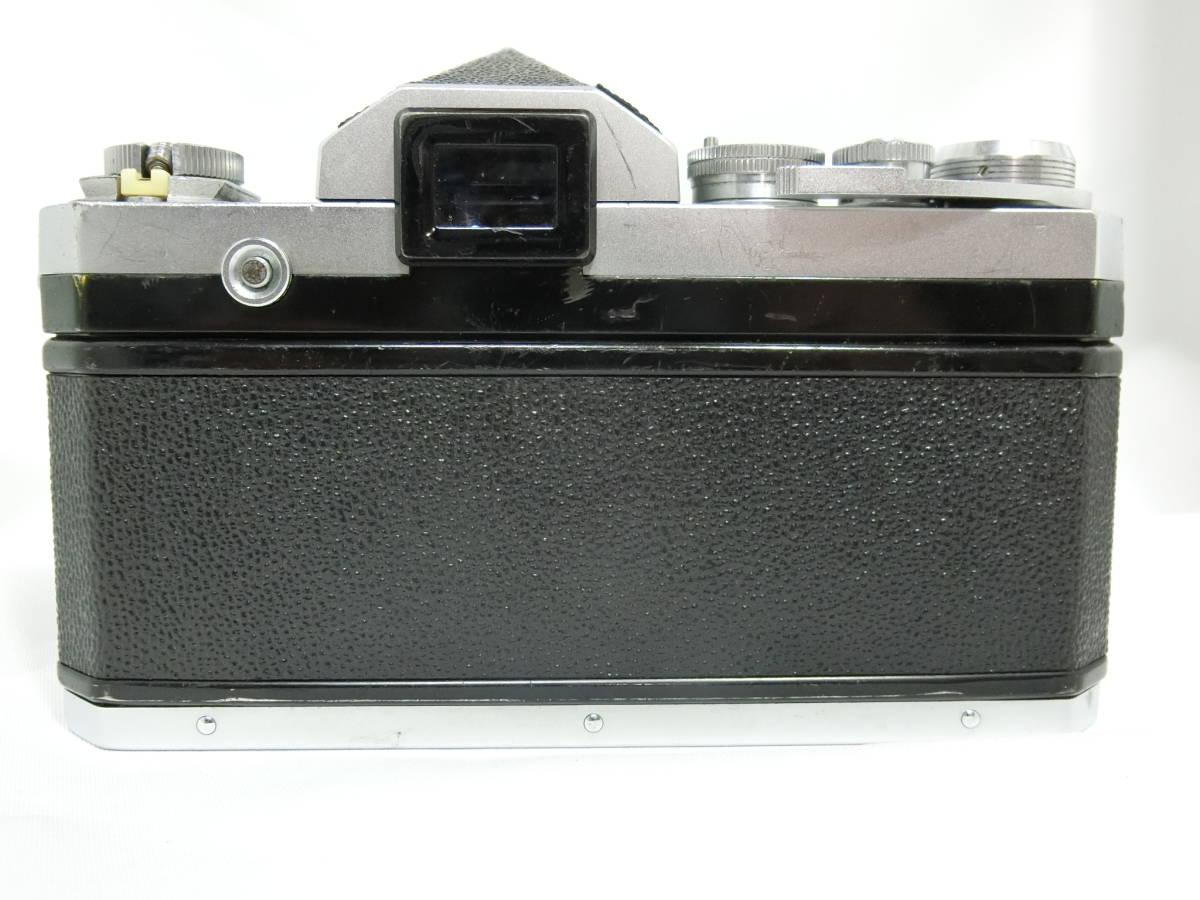 Nikon ニコン F アイレベル シルバー 中古美品_画像4