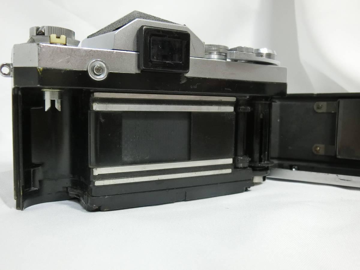 Nikon ニコン F アイレベル シルバー 中古美品_画像5