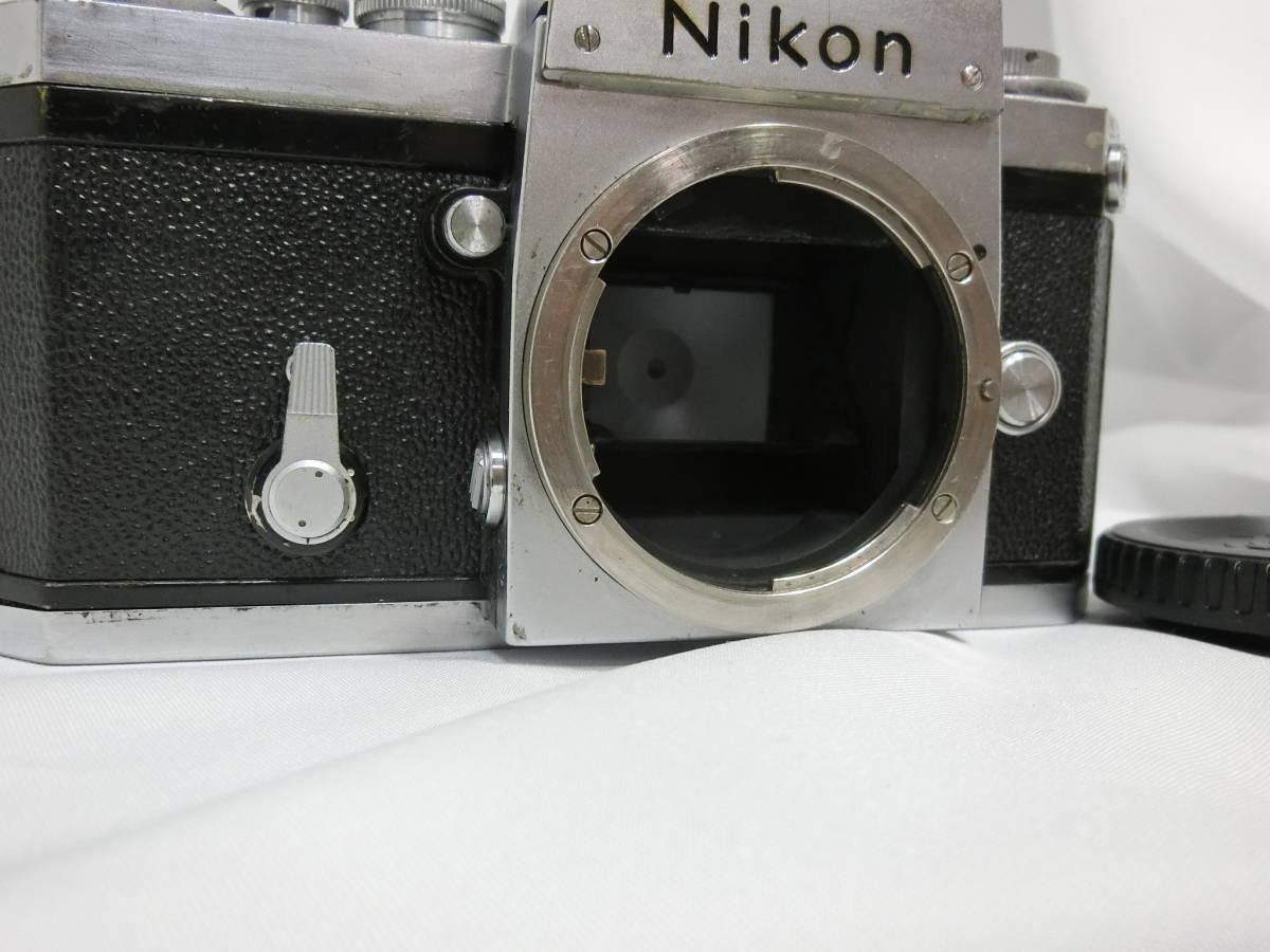 Nikon ニコン F アイレベル シルバー 中古美品_画像6
