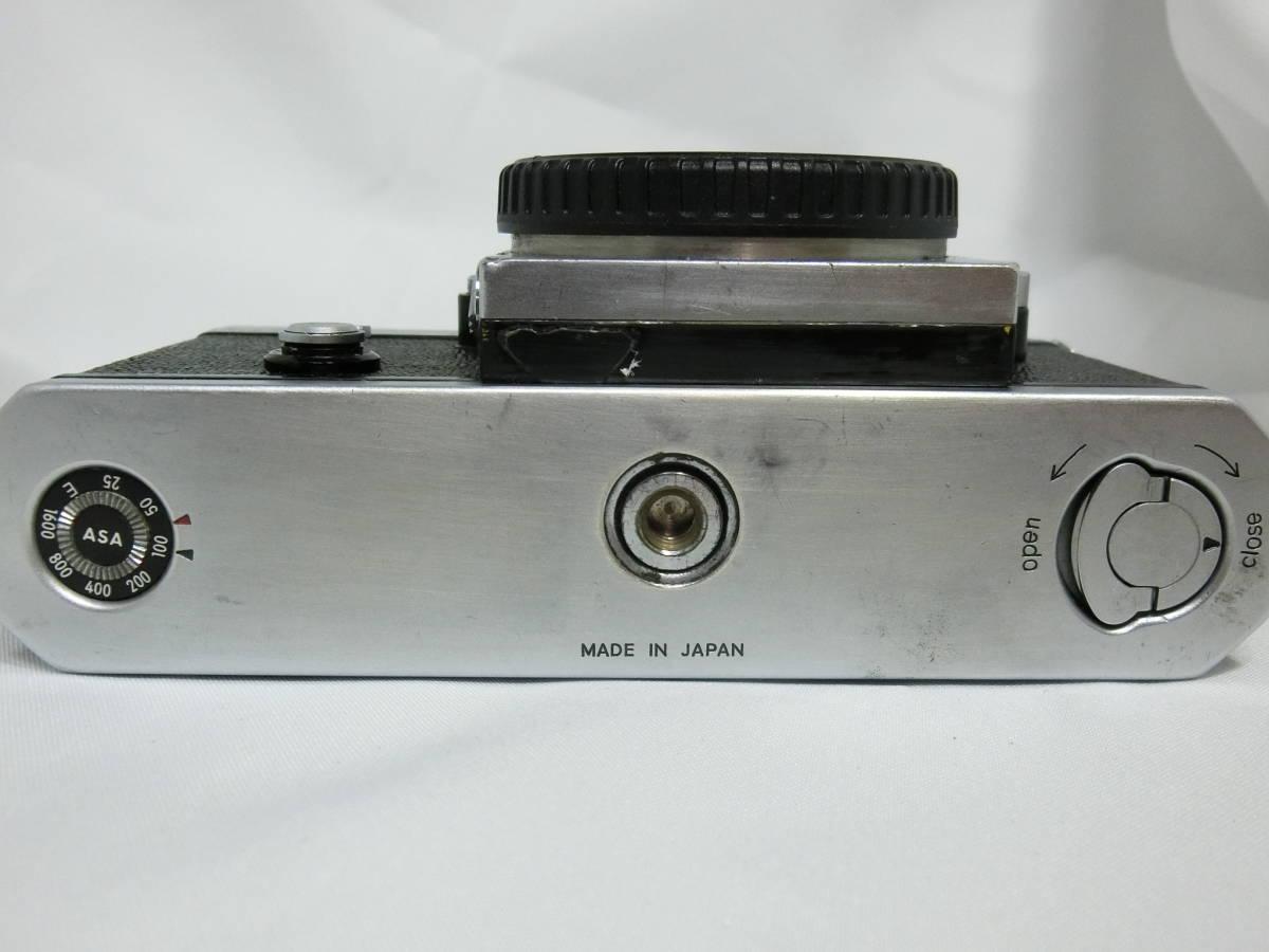 Nikon ニコン F アイレベル シルバー 中古美品_画像7