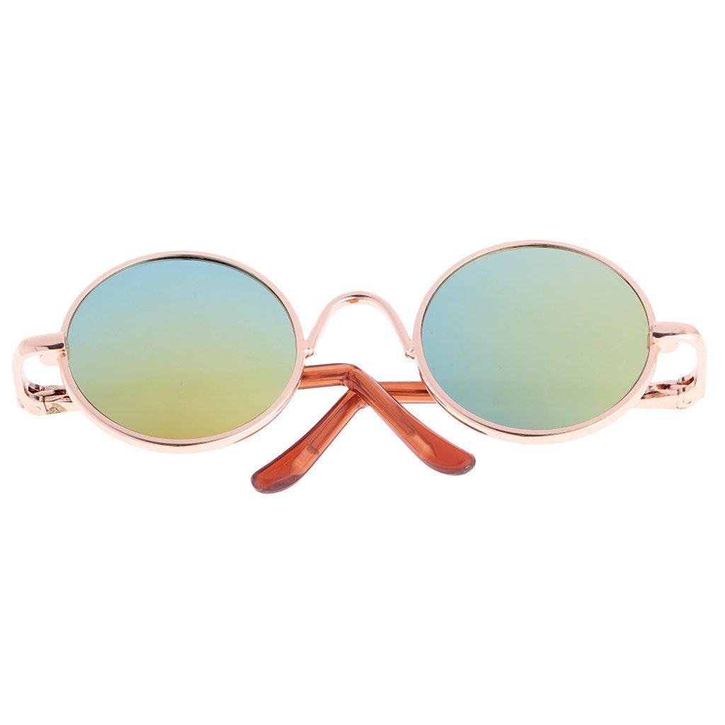 [サングラスのみ] ネオブライスサイズ レトロ 丸 メガネ 眼鏡_画像2