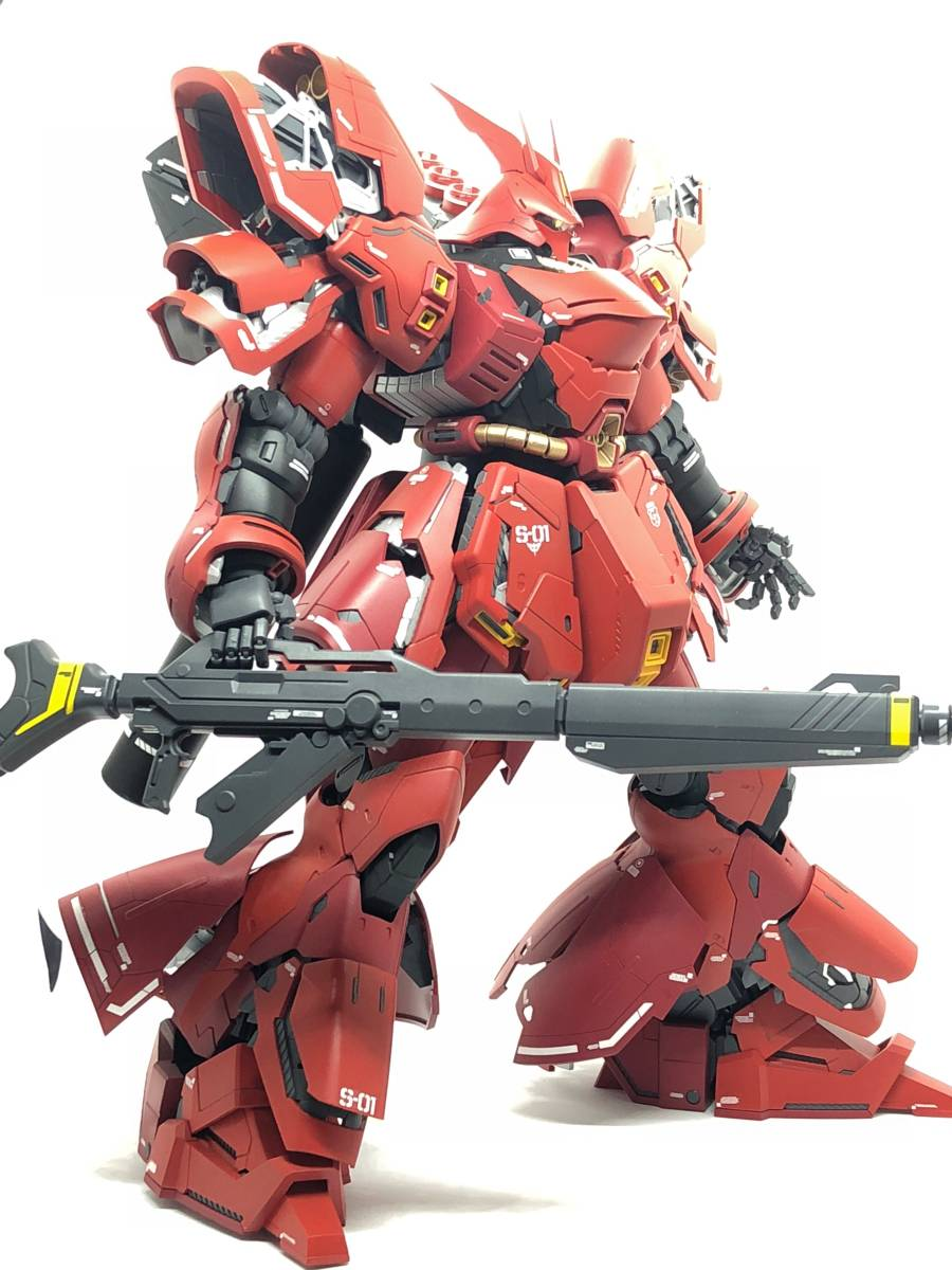 MG 1/100 サザビー Ver.Ka 完成品_画像6