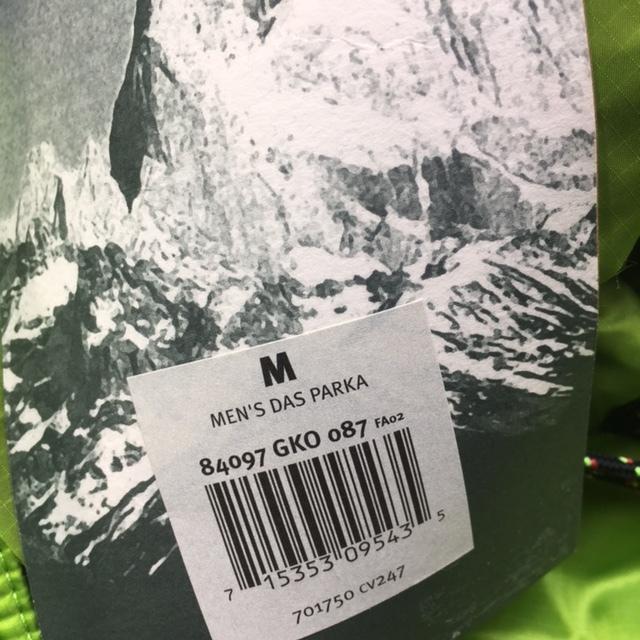 希少2002年 パタゴニア patagonia ダスパーカ DAS parka ゲコグリーン/GECKO GREEN/GKO Mサイズ 新品未使用DEADSTOCKレア デッドストック_画像6