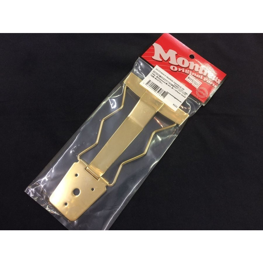 GOLD Fancy Trapeze Tailpiece For ES-175 New Style NEW