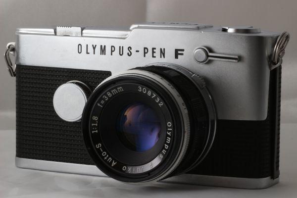 【実用品 】Olympus PEN FT Zuiko Auto-S 38mm f/1.8 100mm f/3.5 オリンパス レンズセット フィルムカメラ 180917-01_画像2