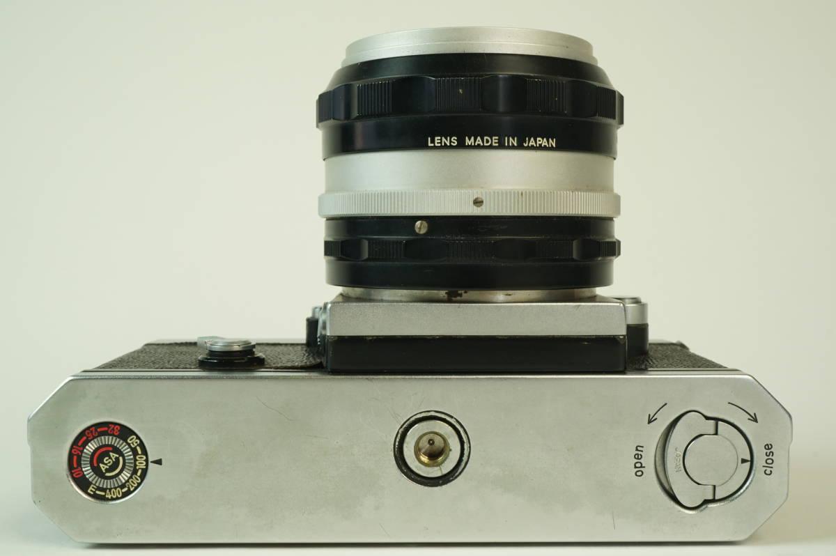 11◆ ニコン Nikon F アイレベル 640万台 レンズ セット NIKKOR-S Auto 50mm 1:1.4 ◆ 現状渡 未整備品 ◆ 特価スタート!_画像4