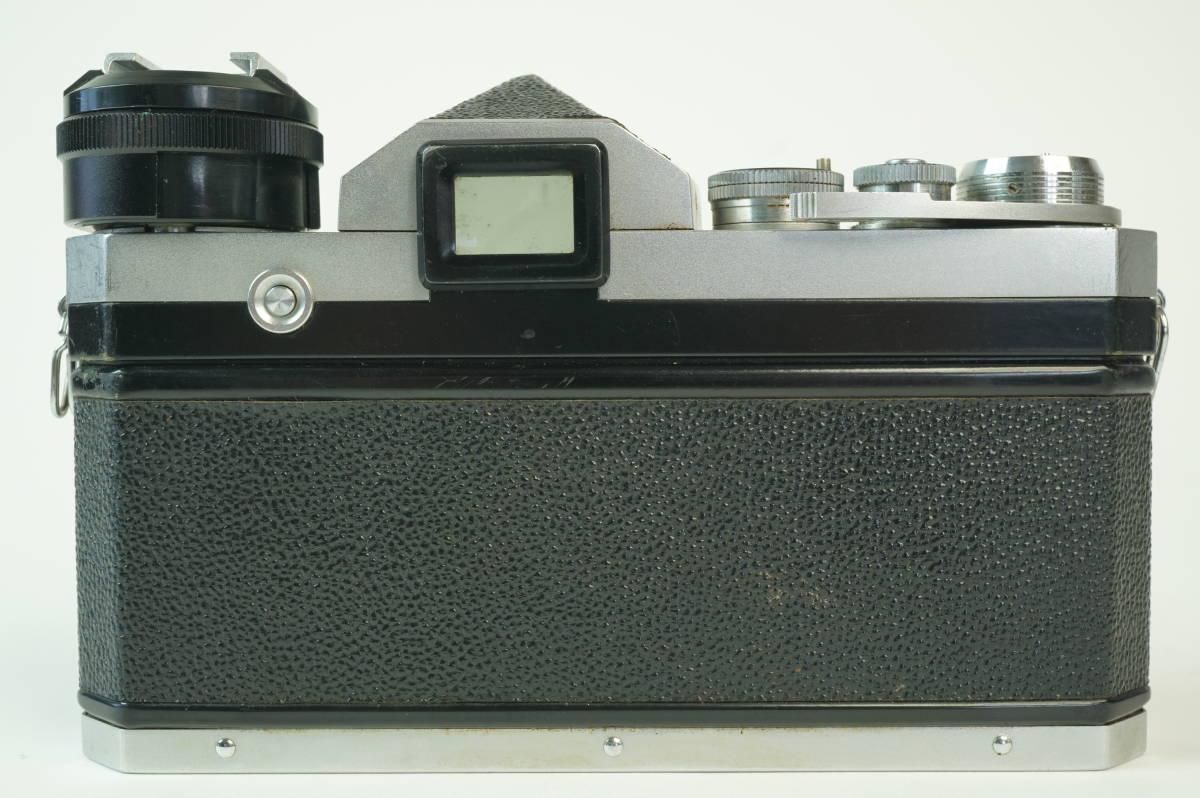 11◆ ニコン Nikon F アイレベル 640万台 レンズ セット NIKKOR-S Auto 50mm 1:1.4 ◆ 現状渡 未整備品 ◆ 特価スタート!_画像5