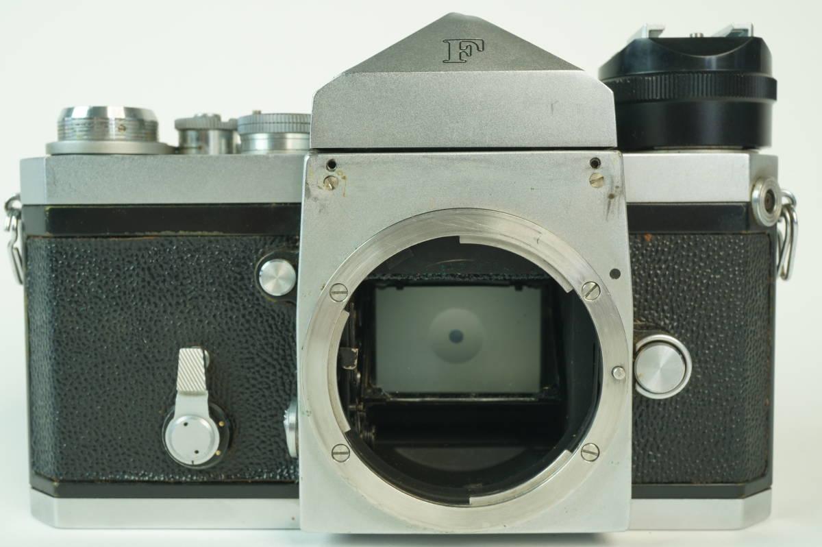 11◆ ニコン Nikon F アイレベル 640万台 レンズ セット NIKKOR-S Auto 50mm 1:1.4 ◆ 現状渡 未整備品 ◆ 特価スタート!_画像6