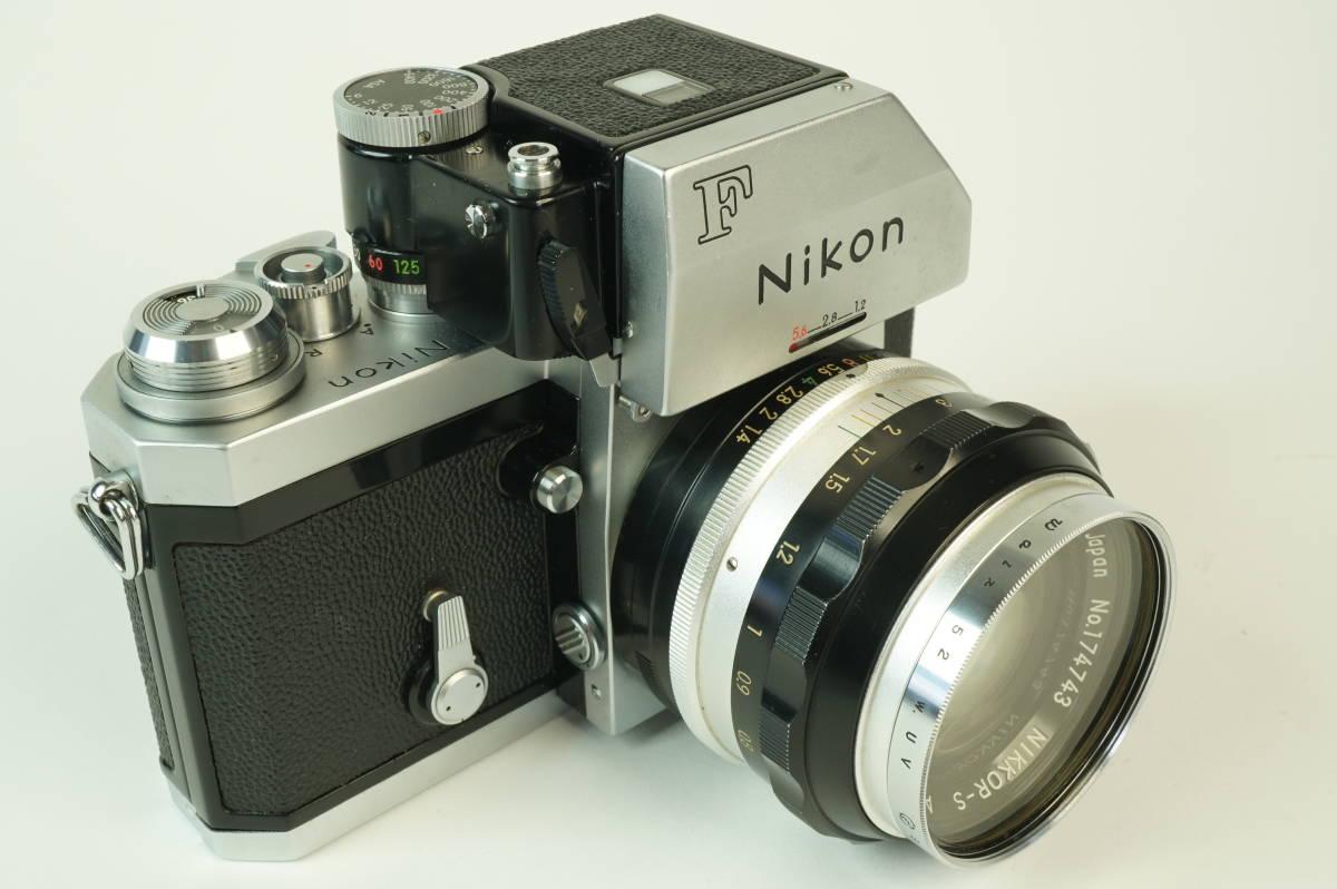 12◆ ニコン Nikon F Photomic フォトミック 724万台 ボディ レンズ セット NIKKOR-S Auto 58mm 1:1.4 ◆ 現状渡 未整備品 特価スタート!_画像3
