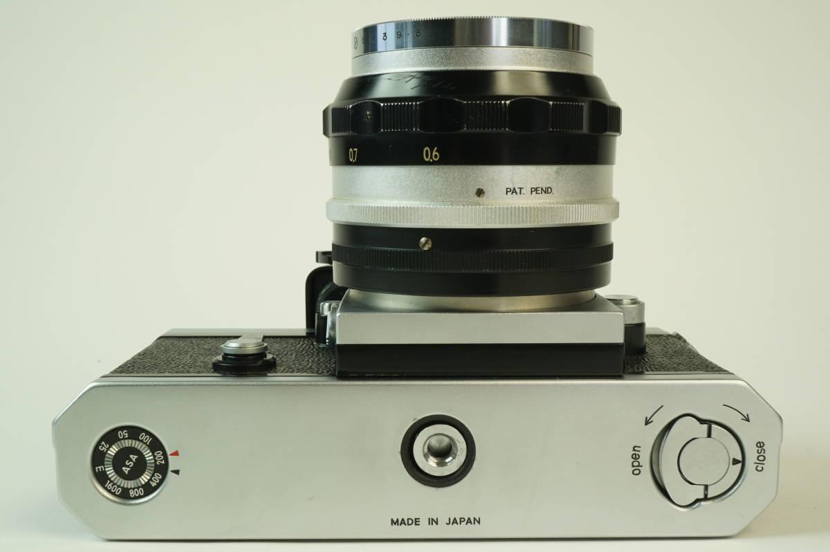 12◆ ニコン Nikon F Photomic フォトミック 724万台 ボディ レンズ セット NIKKOR-S Auto 58mm 1:1.4 ◆ 現状渡 未整備品 特価スタート!_画像5