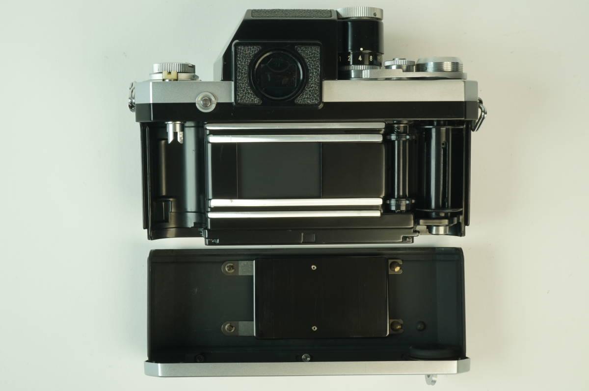 12◆ ニコン Nikon F Photomic フォトミック 724万台 ボディ レンズ セット NIKKOR-S Auto 58mm 1:1.4 ◆ 現状渡 未整備品 特価スタート!_画像6