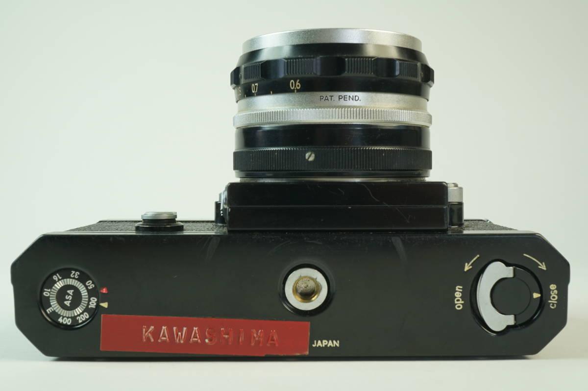 14◆ ニコン Nikon F アイレベル ブラック 659万台 ボディ レンズ セット NIKKOR-S Auto 50mm 1:2 ◆ 現状渡 未整備品 ◆ 特価スタート!_画像5