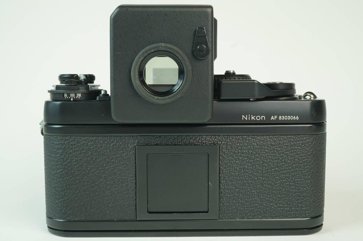 17◆ 名機 ニコン Nikon F3 AF 830万台 ボディ AF-FINDER DX-1 レンズ セット NIKKOR 50mm 1:1.2 ◆ 現状渡 未整備品 ◆ 特価スタート!_画像5