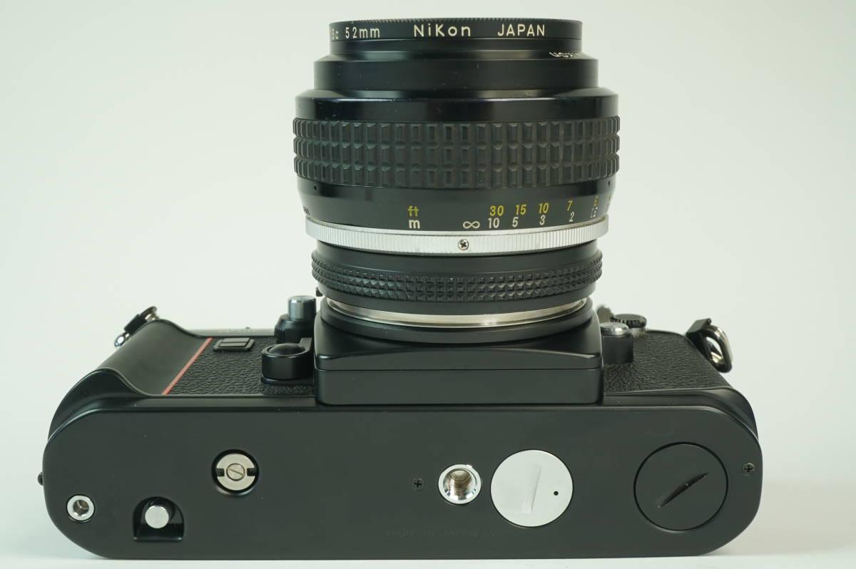 17◆ 名機 ニコン Nikon F3 AF 830万台 ボディ AF-FINDER DX-1 レンズ セット NIKKOR 50mm 1:1.2 ◆ 現状渡 未整備品 ◆ 特価スタート!_画像6
