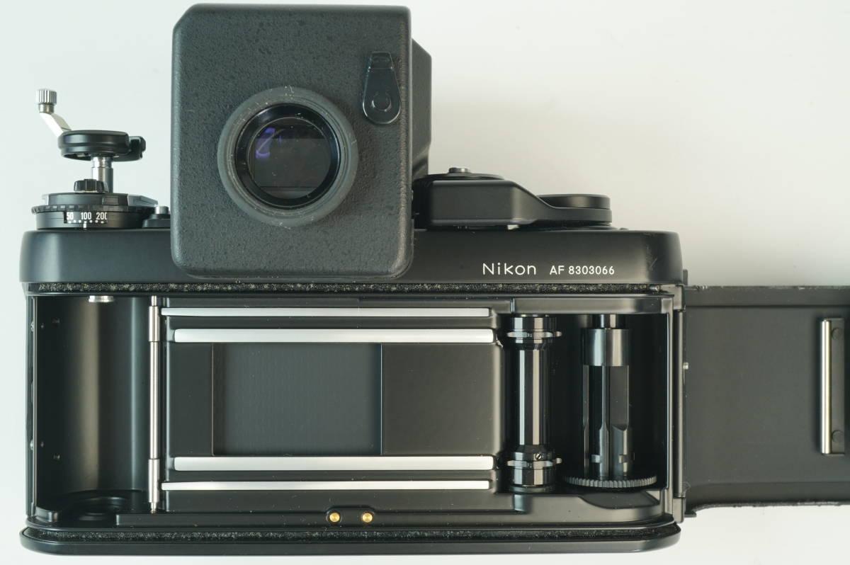 17◆ 名機 ニコン Nikon F3 AF 830万台 ボディ AF-FINDER DX-1 レンズ セット NIKKOR 50mm 1:1.2 ◆ 現状渡 未整備品 ◆ 特価スタート!_画像7