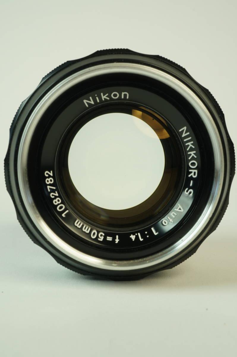 11◆ ニコン Nikon F アイレベル 640万台 レンズ セット NIKKOR-S Auto 50mm 1:1.4 ◆ 現状渡 未整備品 ◆ 特価スタート!_画像7