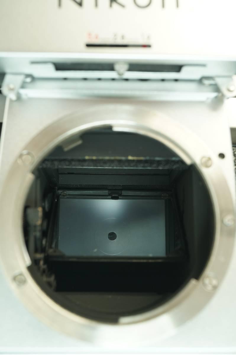 12◆ ニコン Nikon F Photomic フォトミック 724万台 ボディ レンズ セット NIKKOR-S Auto 58mm 1:1.4 ◆ 現状渡 未整備品 特価スタート!_画像7