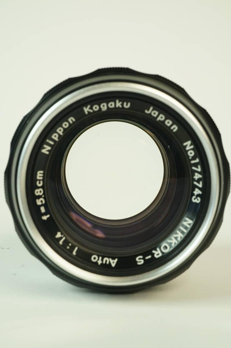 12◆ ニコン Nikon F Photomic フォトミック 724万台 ボディ レンズ セット NIKKOR-S Auto 58mm 1:1.4 ◆ 現状渡 未整備品 特価スタート!_画像8