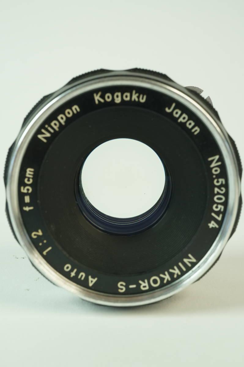 14◆ ニコン Nikon F アイレベル ブラック 659万台 ボディ レンズ セット NIKKOR-S Auto 50mm 1:2 ◆ 現状渡 未整備品 ◆ 特価スタート!_画像7