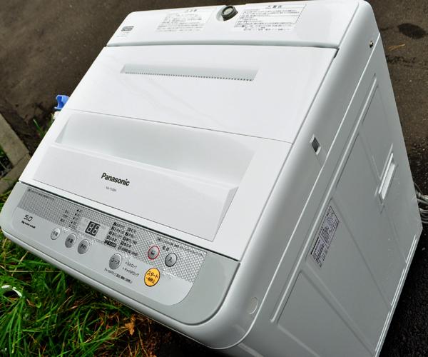 ★美品 16年製 パナソニック 送風乾燥機能搭載 全自動洗濯機 5.0kg NA-F50B9 札幌引取歓迎★_画像10