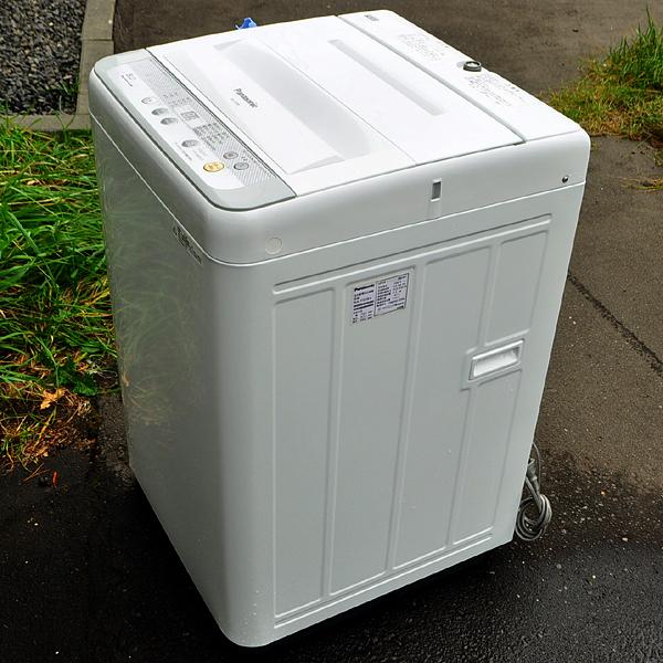 ★美品 16年製 パナソニック 送風乾燥機能搭載 全自動洗濯機 5.0kg NA-F50B9 札幌引取歓迎★_画像4
