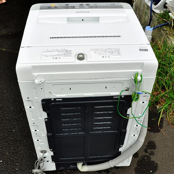 ★美品 16年製 パナソニック 送風乾燥機能搭載 全自動洗濯機 5.0kg NA-F50B9 札幌引取歓迎★_画像6