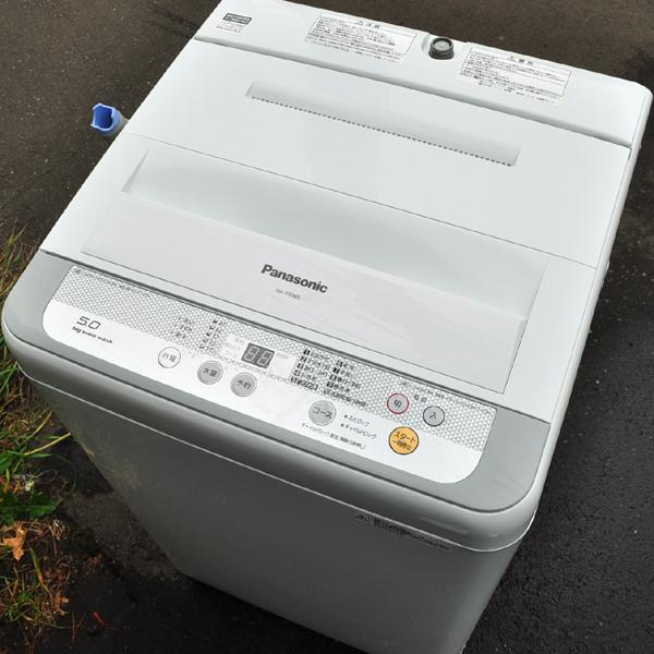 ★美品 16年製 パナソニック 送風乾燥機能搭載 全自動洗濯機 5.0kg NA-F50B9 札幌引取歓迎★_画像2