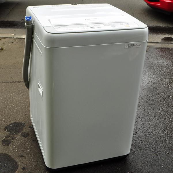 ★美品 16年製 パナソニック 送風乾燥機能搭載 全自動洗濯機 5.0kg NA-F50B9 札幌引取歓迎★_画像3
