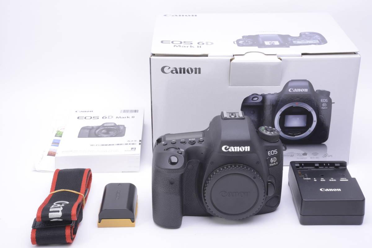新品同様!1円~最落ナシ!★Canon デジタル一眼レフカメラ EOS 6D Mark II ボディー EOS6DMK2 キャノン