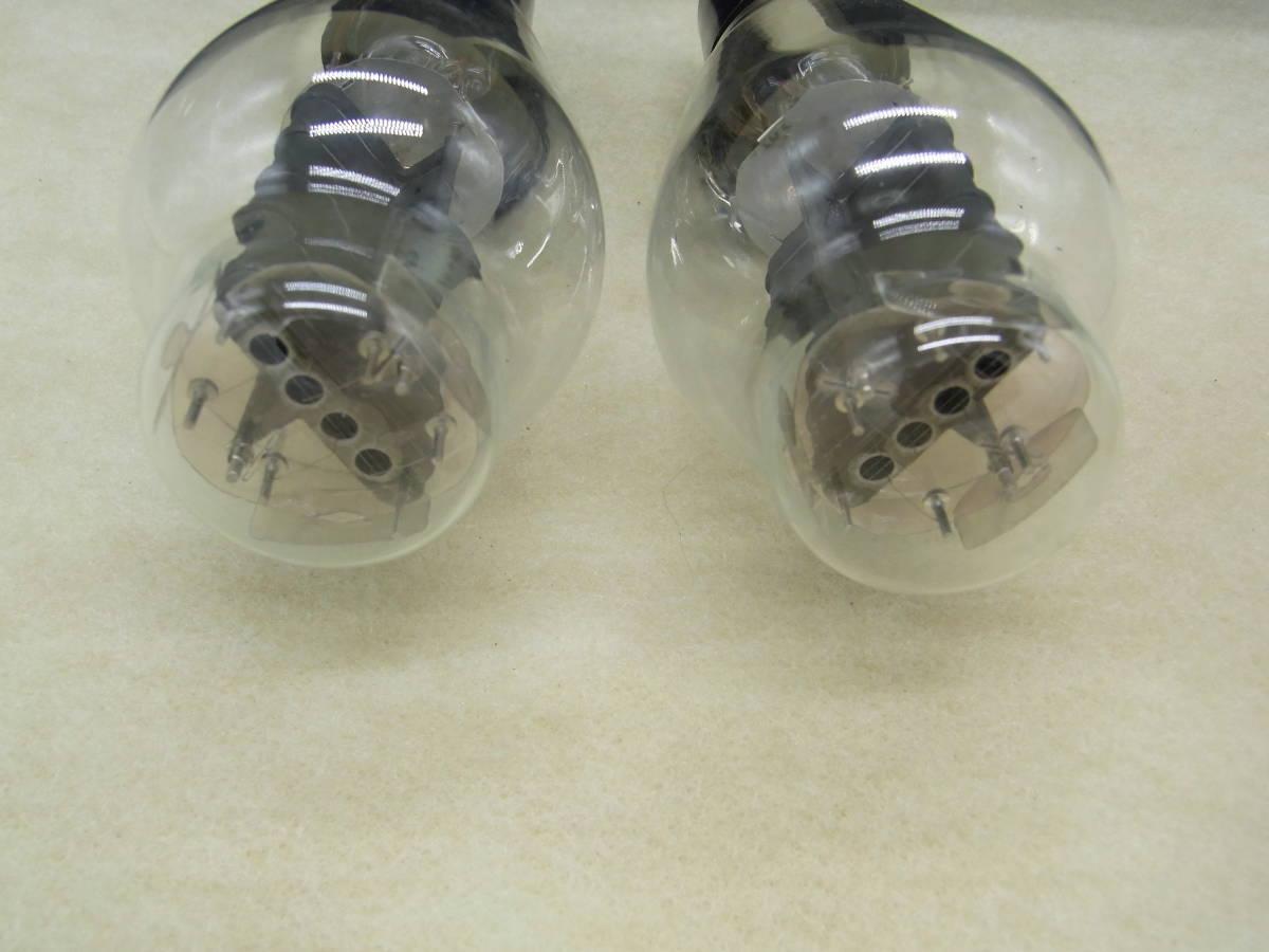 ♪♪古い真空管 Western Electric/ウェスタン・エレクトリック 300-B 2本セット ジャンク♪♪_画像7